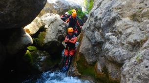 Canyoning-Prades (Spain)-Canyoning at Gorges du Llech in the French Pyrenees-3