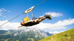 Tyrolienne-Saalfelden Leogang-Flying Fox XXL in Leogang, Salzburger Land-6