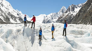 Glacier hiking-Aoraki / Mount Cook-Tasman Glacier heli hiking tour-1