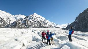 Glacier hiking-Aoraki / Mount Cook-Tasman Glacier heli hiking tour-5
