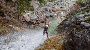 Canyoning-Bled-Extreme Canyoning in the Soča Valley, near Bled-2