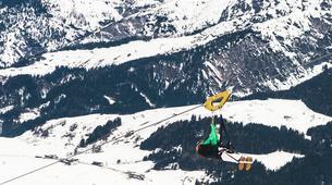 Tyrolienne-Saalfelden Leogang-Flying Fox XXL in Leogang, Salzburger Land-3