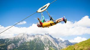 Tyrolienne-Saalfelden Leogang-Flying Fox XXL in Leogang, Salzburger Land-1