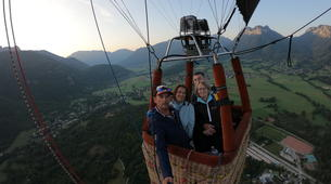 Hot Air Ballooning-Annecy-Hot air balloon flight over Annecy-2