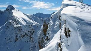 Snowshoeing-Bagnères-de-Luchon-Snowshoes Hiking in Pyrenees mountains-1