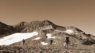 Snowshoeing-Bagnères-de-Luchon-Snowshoes Hiking in Pyrenees mountains-4