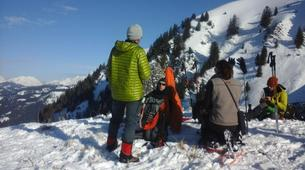 Snowshoeing-Mercantour National Park-Snowshoeing excursion around Allos lake-4