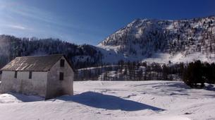 Snowshoeing-Mercantour National Park-Snowshoeing excursion around Allos lake-2