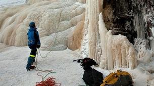 Ice Climbing-Pyha-Ice Climbing Session in Korouoma Canyon from Pyhä-Luosto-2
