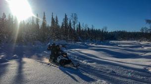 Snowmobiling-Kiruna-Arctic Snowmobile Excursion-6