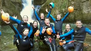 Canyoning-Jura-Saine canyon in Jura-1