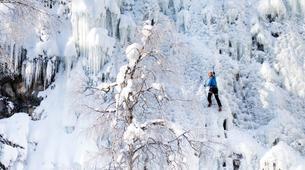 Ice Climbing-Pyha-Ice Climbing Lesson in Pyhä-Luosto-1