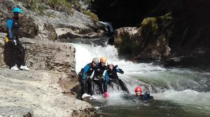 Canyoning-Jura-Saine canyon in Jura-4
