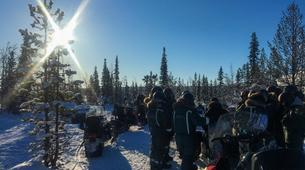 Snowmobiling-Kiruna-Arctic Snowmobile Excursion-2