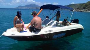 Jet Boating-Kitts and Nevis-Speed boat private charter in St Kitts and Nevis-1