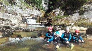 Canyoning-Jura-Saine canyon in Jura-5