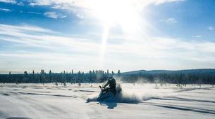 Snowmobiling-Kiruna-Arctic Snowmobile Excursion-3