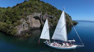 Sailing-Taupo-Eco Sailing to Māori Rock Carvings on Lake Taupo-5