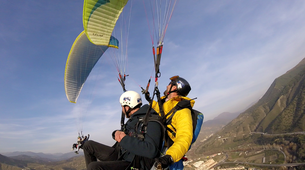 Paragliding-Granada-Tandem Paragliding Flight in the Sierra Nevada National Park-1