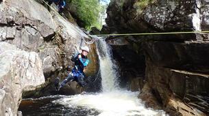 Canyoning-Edinburgh-Alva canyon in Clackmannanshire near Edinburgh-1