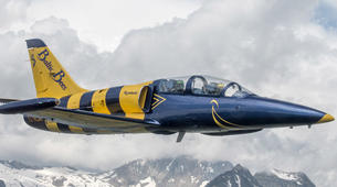 Scenic Flights-Sion-Jet fighter flight (L-39) over the Swiss Alps from Sion-1