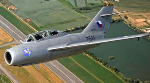 Air Experiences-Pilsen-Jet fighter flight (MiG-15) over Pilsen, Czech Republic-1