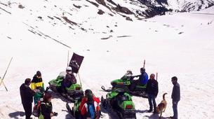 Snowmobiling-Ordino-Snowmobile excursions in Ordino, Andorra-1