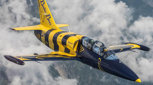 Scenic Flights-Sion-Jet fighter flight (L-39) over the Swiss Alps from Sion-4
