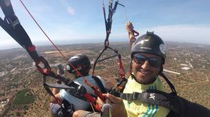 Parapente-Loulé-Tandem paragliding in Loulé Cerro de Cabeço de Camera in Loulé-4