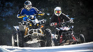 Quad biking-Flaine, Le Grand Massif-Ice Quad Driving in Flaine, French Alps-6
