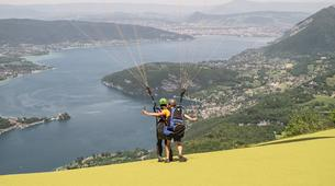 Paragliding-Annecy-Tandem paragliding flight over Annecy's Lake-5