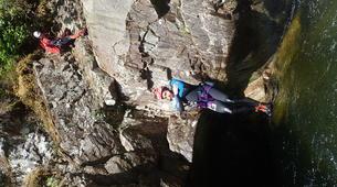 Canyoning-Edinburgh-Alva canyon in Clackmannanshire near Edinburgh-2