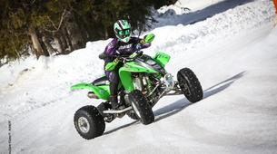 Quad biking-Flaine, Le Grand Massif-Ice Quad Driving in Flaine, French Alps-2