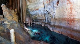 Spéléologie-Mallorque-Sea caving excursion in Cova de Coloms-1