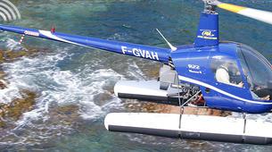 Helicoptère-Cannes-Vol d'initiation en hélicoptère à Cannes, Côte d'Azur-1