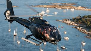 Helicoptère-Cannes-Vol panoramique Privé en hélicoptère au-dessus de la Côte d'Azur depuis Cannes-2