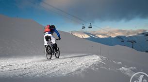 Fat Bike-Les Sybelles-VTT de descente sur neige à Saint-Sorlin d'Arves, Les Sybelles-4