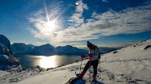Raquette à Neige-Tromsø-Snowshoe Excursion on Kvaløya island from Tromsø-1
