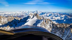 Helicoptère-Courchevel, Les Trois Vallées-Vol panoramique partagé en hélicoptère dans les Alpes depuis Courchevel-2