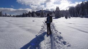 Snowshoeing-Chamonix Mont-Blanc-Snowshoeing excursion in Chamonix-1