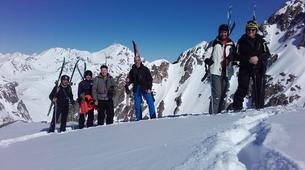 Ski touring-Barèges-Ski touring in Barèges, near Pic du Midi-1
