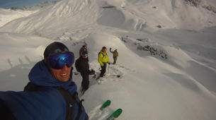 Ski Hors-piste-Les Sybelles-Session de ski hors-pistes dans Les Sybelles-3