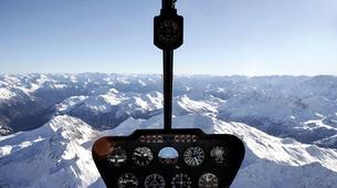 Helicoptère-Courchevel, Les Trois Vallées-Vol panoramique partagé en hélicoptère dans les Alpes depuis Courchevel-4