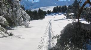 VTT-Saint-Lary-Soulan-Descente sur neige en trottinette tout terrain à Saint Lary Soulan-3