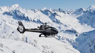 Helicoptère-Alpe d'Huez Grand Domaine-Vol panoramique privé en hélicoptère dans les Alpes depuis L'Alpe d'Huez-1