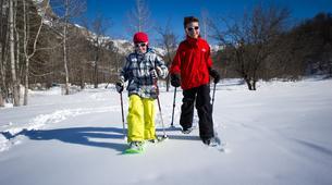 Snowshoeing-Saint-Lary-Soulan-Kids Snowshoeing excursion in Saint-Lary-Soulan, Pyrenees-1