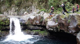 Canyoning-Langevin River, Saint-Joseph-Grand Galet canyon in Reunion Island-2