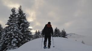 Raquette à Neige-Megève, Evasion Mont Blanc-Randonnée en raquettes Megève, Evasion Mont-Blanc-1