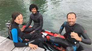 Apnée-La Dominique-Découverte de la plongée en apnée dans le lagon de Portsmouth, La Dominique-1