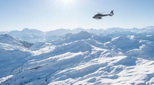 Helicoptère-Alpe d'Huez Grand Domaine-Vol panoramique privé en hélicoptère dans les Alpes depuis L'Alpe d'Huez-3